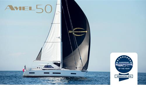 AMEL 50 has been awarded European Yacht of the Year 2018